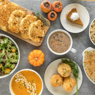 Our Vegan Thanksgiving Menu + Recipes 2017 sweetsimplevegan.com
