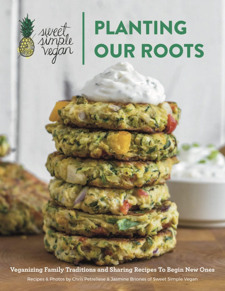 Veganizing Family Traditions: Planting Our Roots Ebook SweetSimpleVegan.com | Easy One-Pot Cauliflower & Chickpea Curry {easy + oil-free} + Cyber Monday Ebook SALE! sweetsimplevegan.com