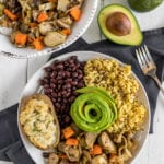 Easy Roasted Vegetables w/ Mustard {oil-free} -- Perfect Holiday Side or Appetizer #holiday #appetizer #oilfree #glutenfree #christmas #vegan #healthy #side