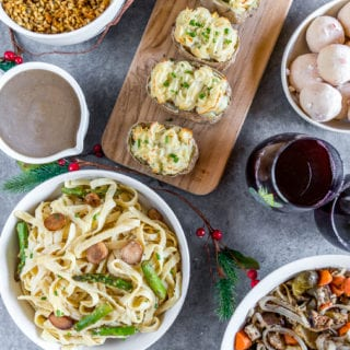 Vegan Holiday Menu on a Budget – 4 Courses Under $40!