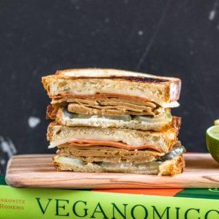 Vegan Cuban Sandwiches + Veganomicon Cookbook Giveaway!