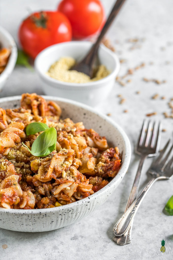 Hearty Rice Cooker Pasta w/ Lentils | Easy & Healthy Rice ...