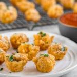 Vegan Super Bowl Baked Mac and Cheese Bites! #vegan #vegansuperbowl #macandcheese #bites #vegancheese #bestvegan #baked #partyfood #veganparty