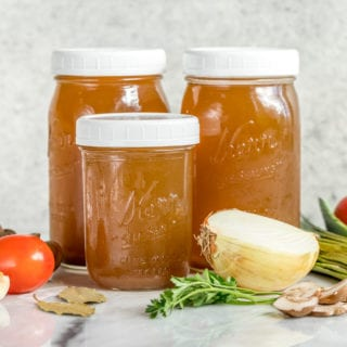 Homemade Vegetable Broth – Easy, Cheap & Low-Sodium!