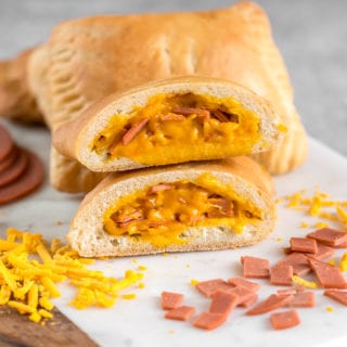 Vegan Ham and Cheese Hot Pockets