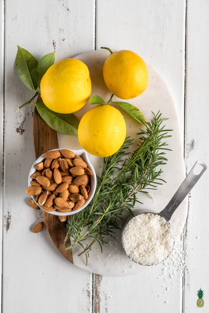 With the perfect balance of tart and sweet, these creamy lemon bars are a must try dessert. They are of course 100% vegan, and also 100% delicious. Plus, they are naturally-sweetened and gluten-free--say whaaaat!#vegan #dessert #lemon #rosemary #mindblowing #sweet #refinedsugarfree #naturallysweetened #medjooldates #coconutoil #unique #musttry #veganized #eggfree #dairyfree #snack #lemonbars