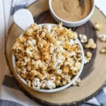 No need for store-bought microwave popcorn again! This quick, cheap and easy snack is perfect for summer parties or movie nights at home. The fiesta seasoning gives it a unique kick that everyone will love. #party #summer #snack #kids #homemade #quick #cheap #easy #lazy #vegan #cheese #fiesta #taco #mexican #lastminute #summerparty #kids #sweetsimplevegan