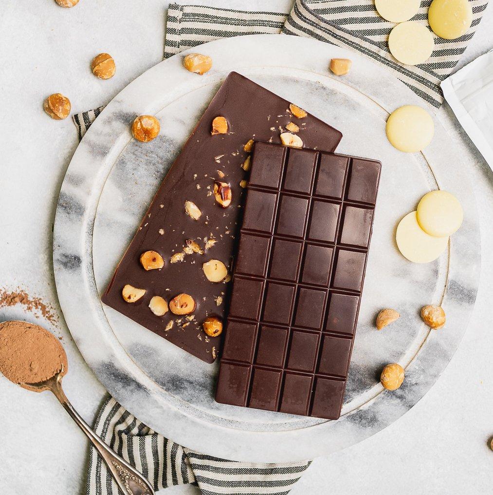 Homemade Vegan Chocolate Bars (5