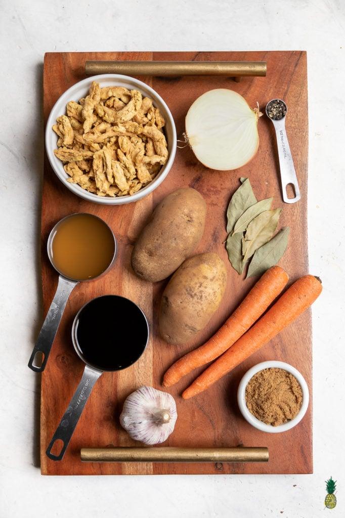 Vegan Filipino Adobo Ingredients