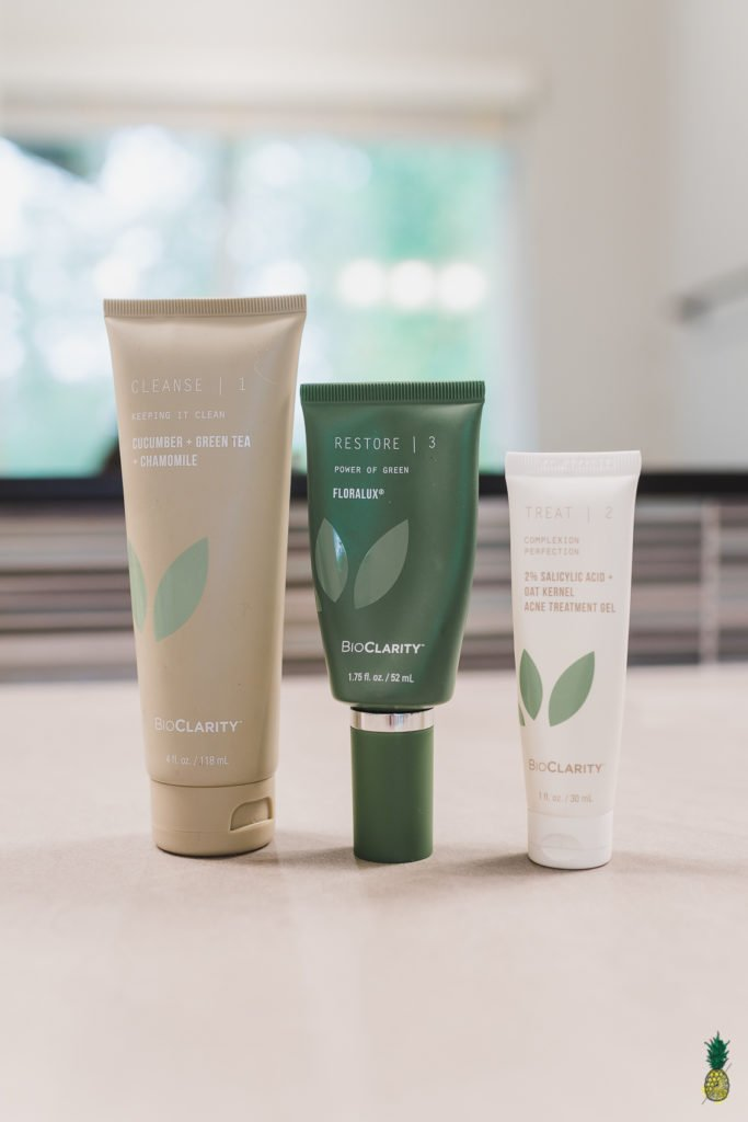 Sweet Simple Vegan Skincare Routine with BioClarity 3 Step System
