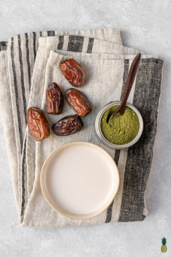 Matcha Latte Ingredients Dates