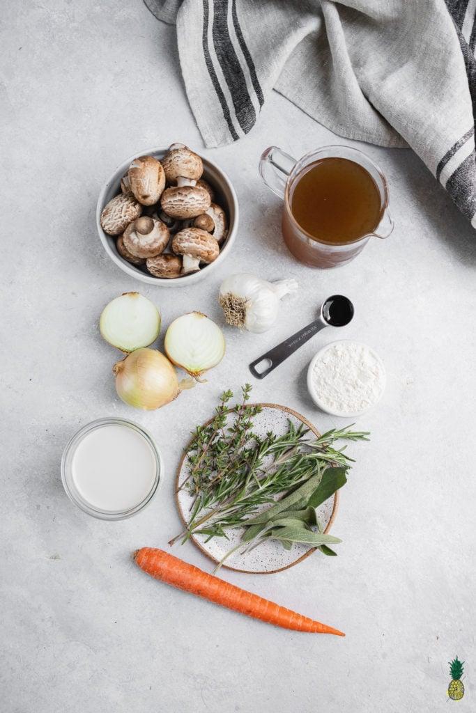 Mushroom Gravy Ingredients