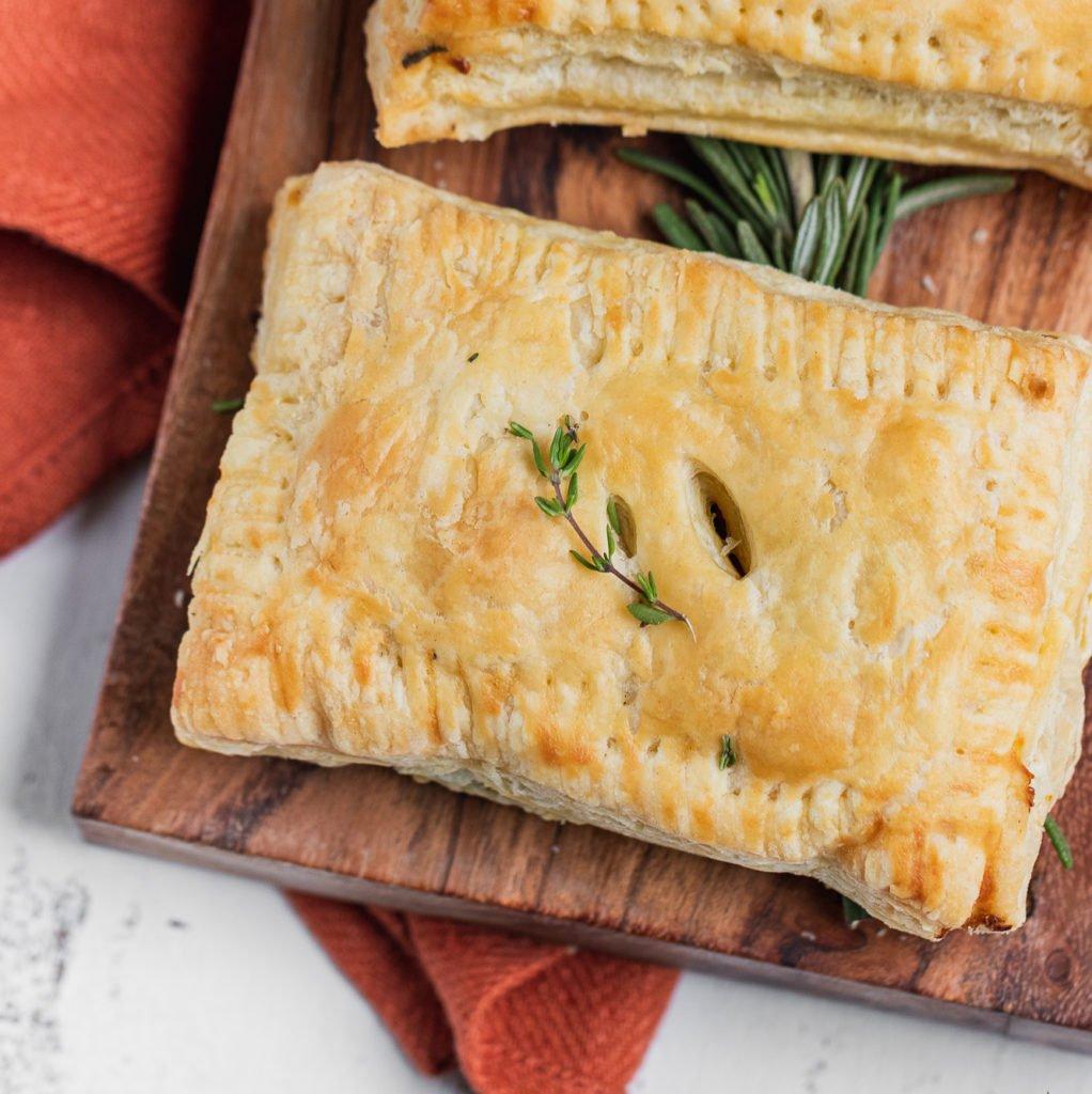 Savory Pumpkin Hand Pies vegan