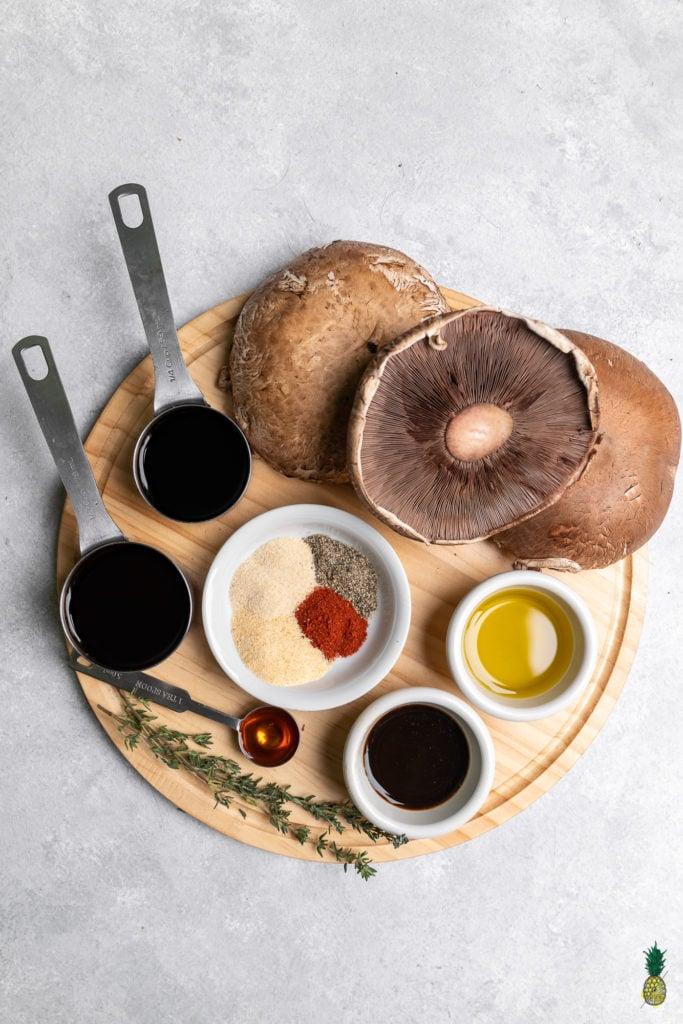 Grilled Mushroom Steaks Marinade