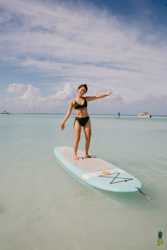 Stand Up Paddle Board Yoga SUP Aruba