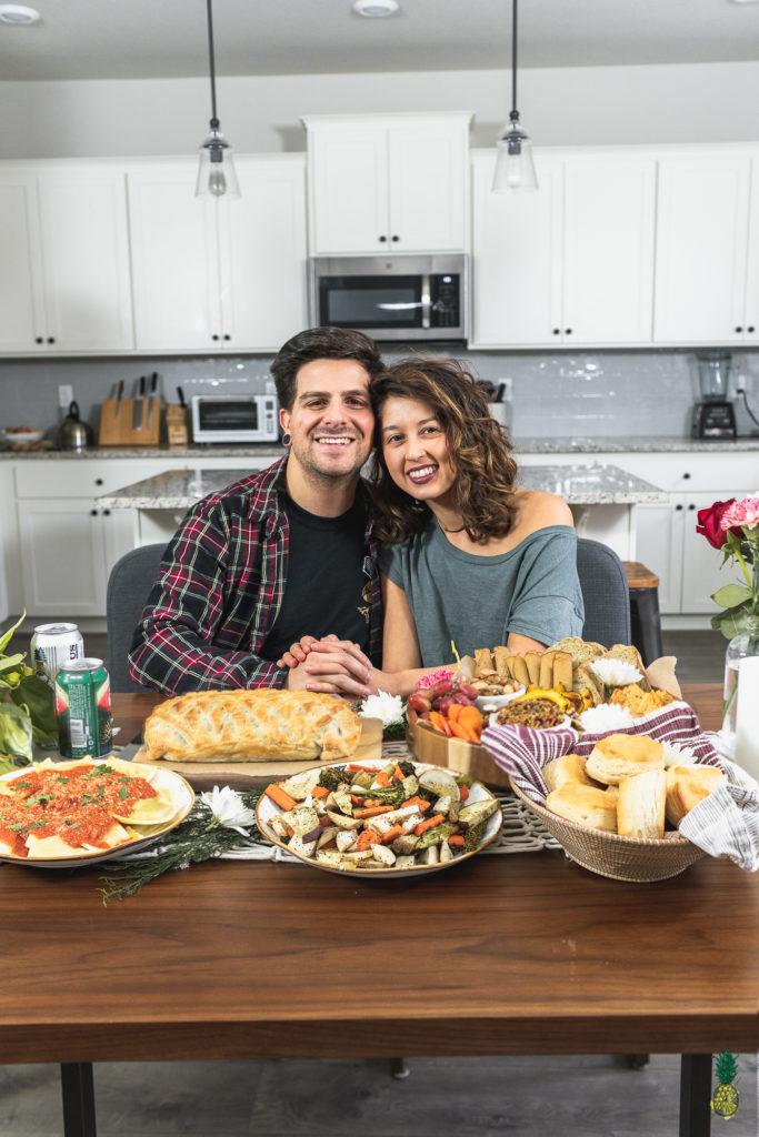 Vegan Holiday Christmas Dinner for Two
