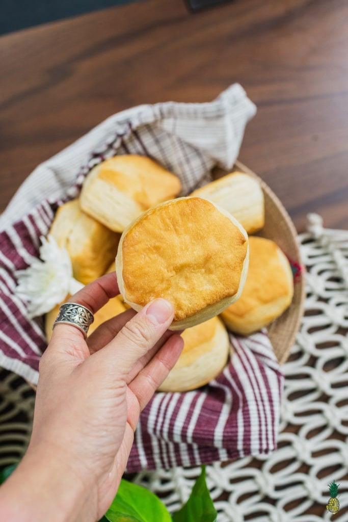 Flaky Vegan Biscuits!!