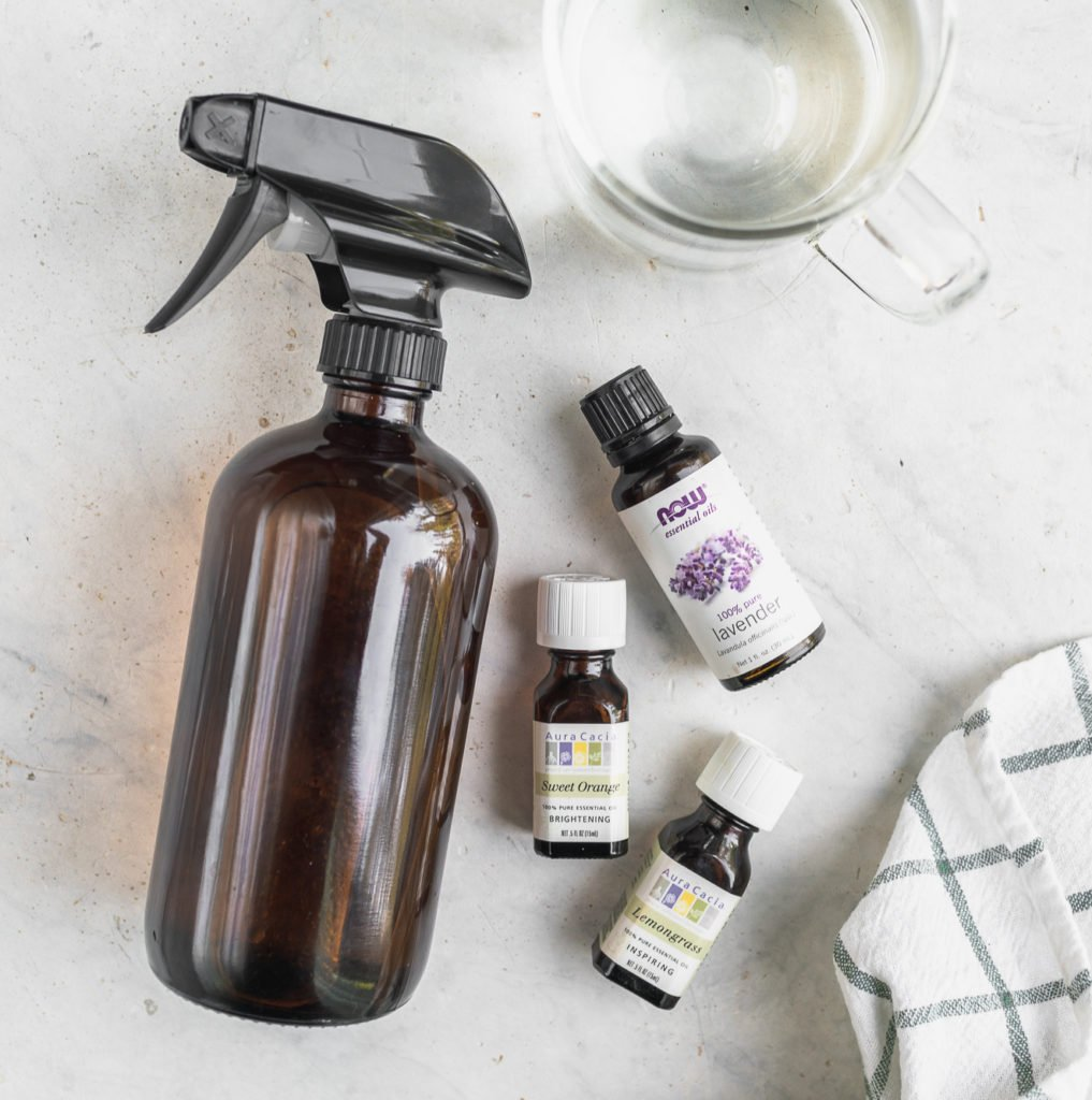 DIY 3-Ingredient Cleaning Spray Ingredients