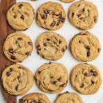 The perfect vegan chocolate chip cookies