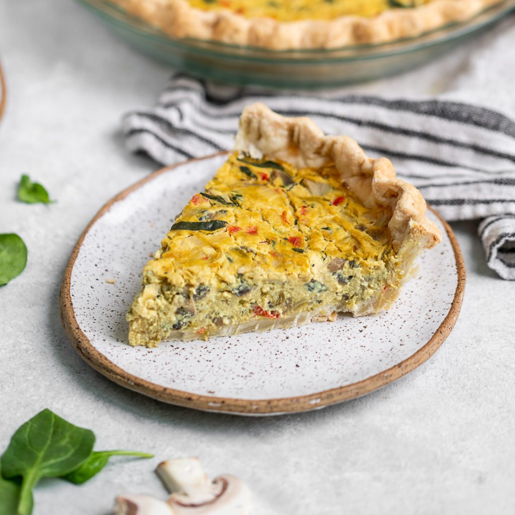 Easy Vegan Spinach Artichoke Quiche Must Try
