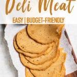 Homemade vegan deli meat slices by sweet simple vegan for pinterest