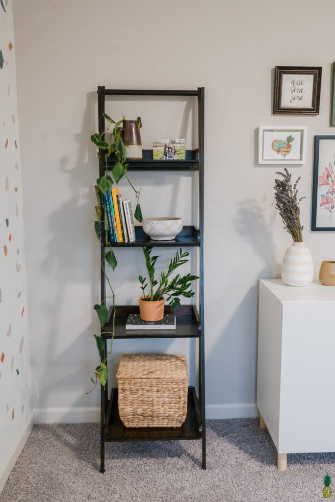 image of a shelf with decor.