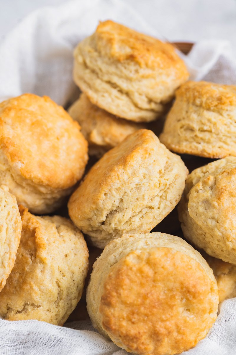Vegan Buttermilk Biscuits Flaky Fluffy Sweet Simple Vegan