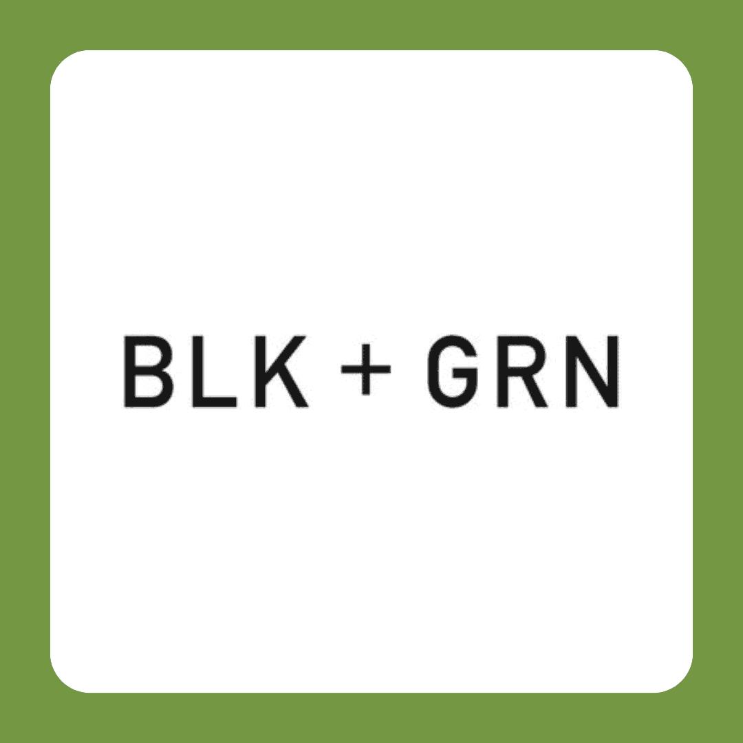BLK + GRN LOGO