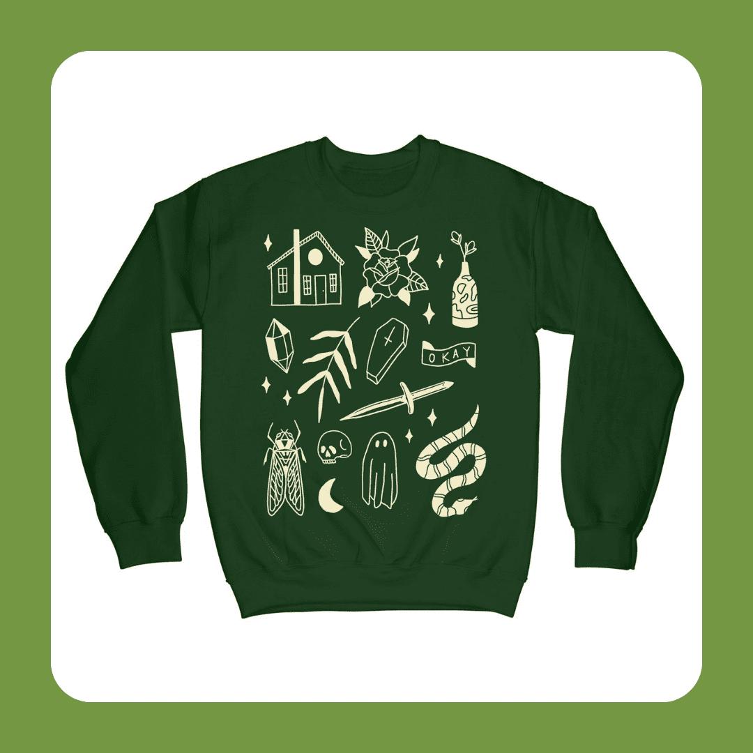 Pretty Bad Co Residential Ghost Things Sweatshirt