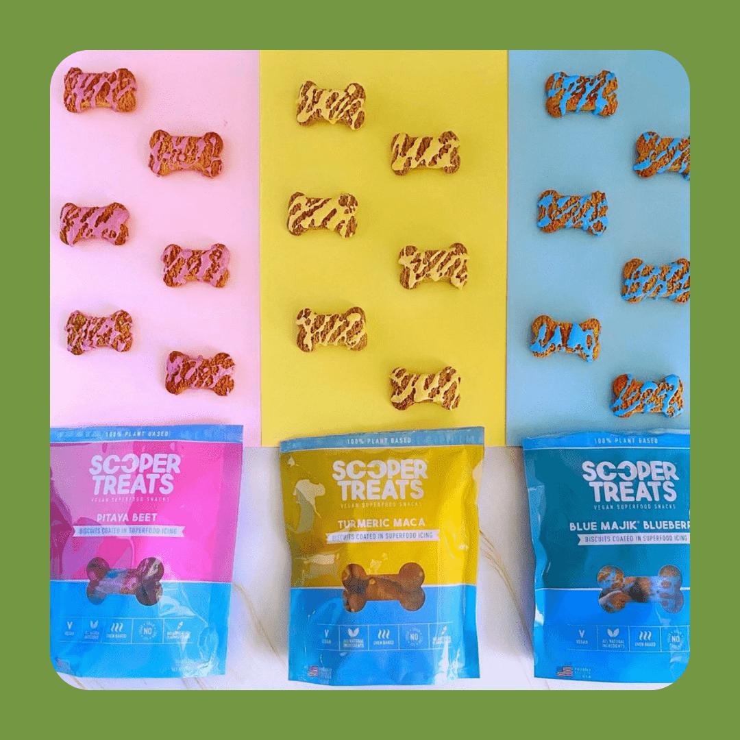 sooper treats vegan dog snacks