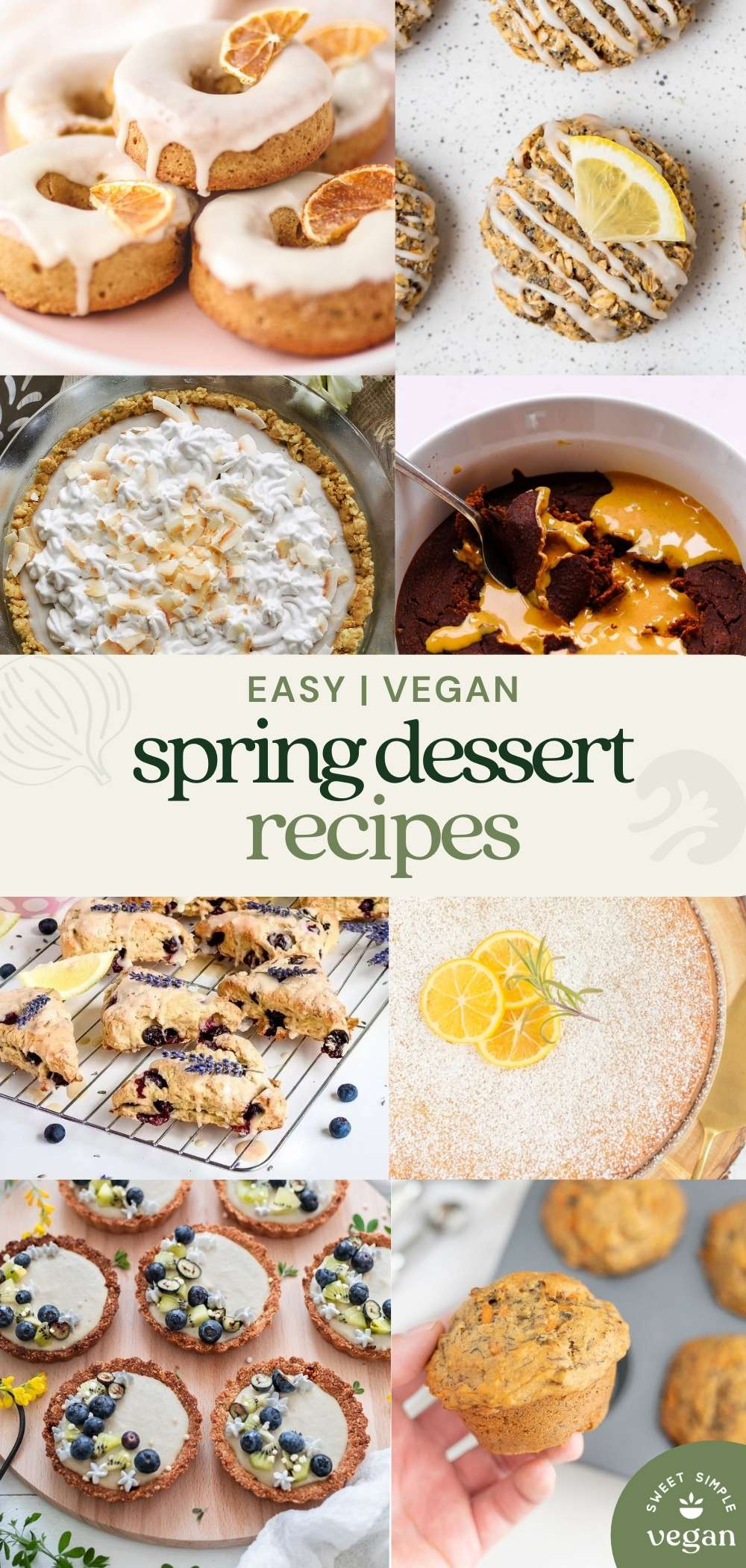 pinterest image with different recipe photos and text.