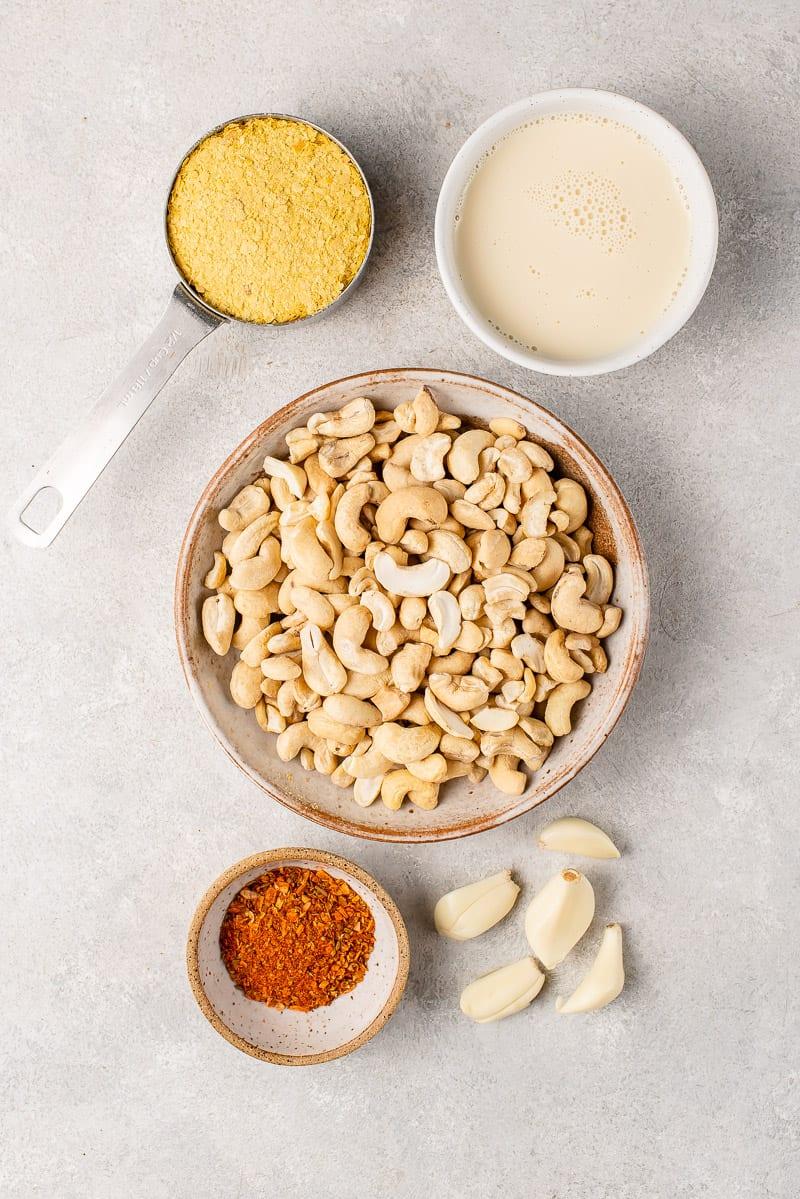 cajun style cheese sauce ingredients