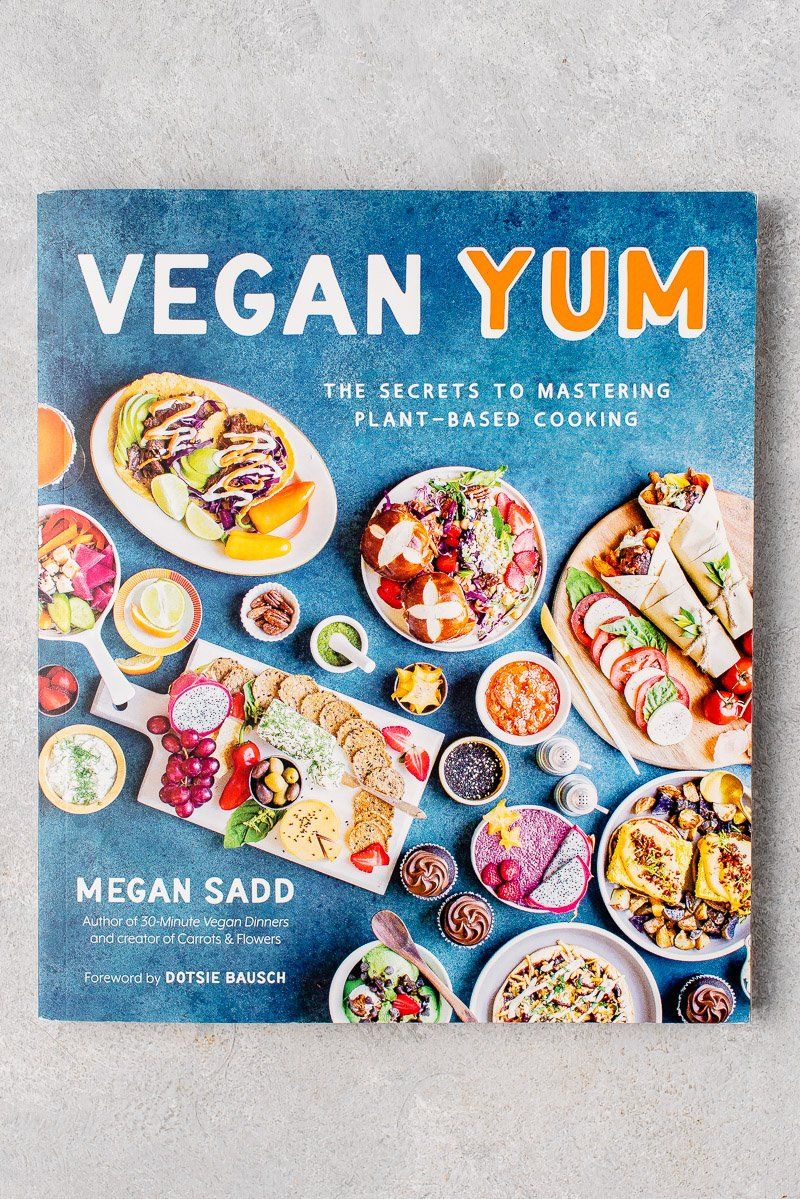 Vegan Yum Cookbook Cover