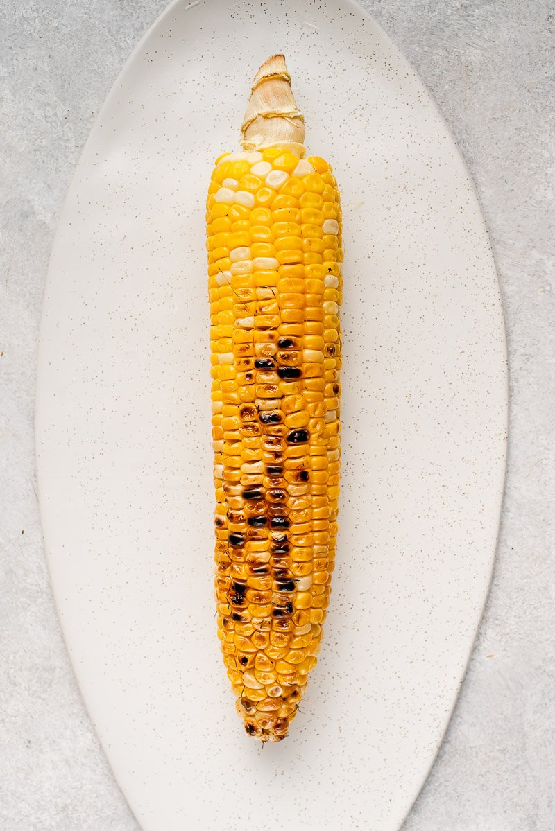 step by step grilled buffalo corn recipe