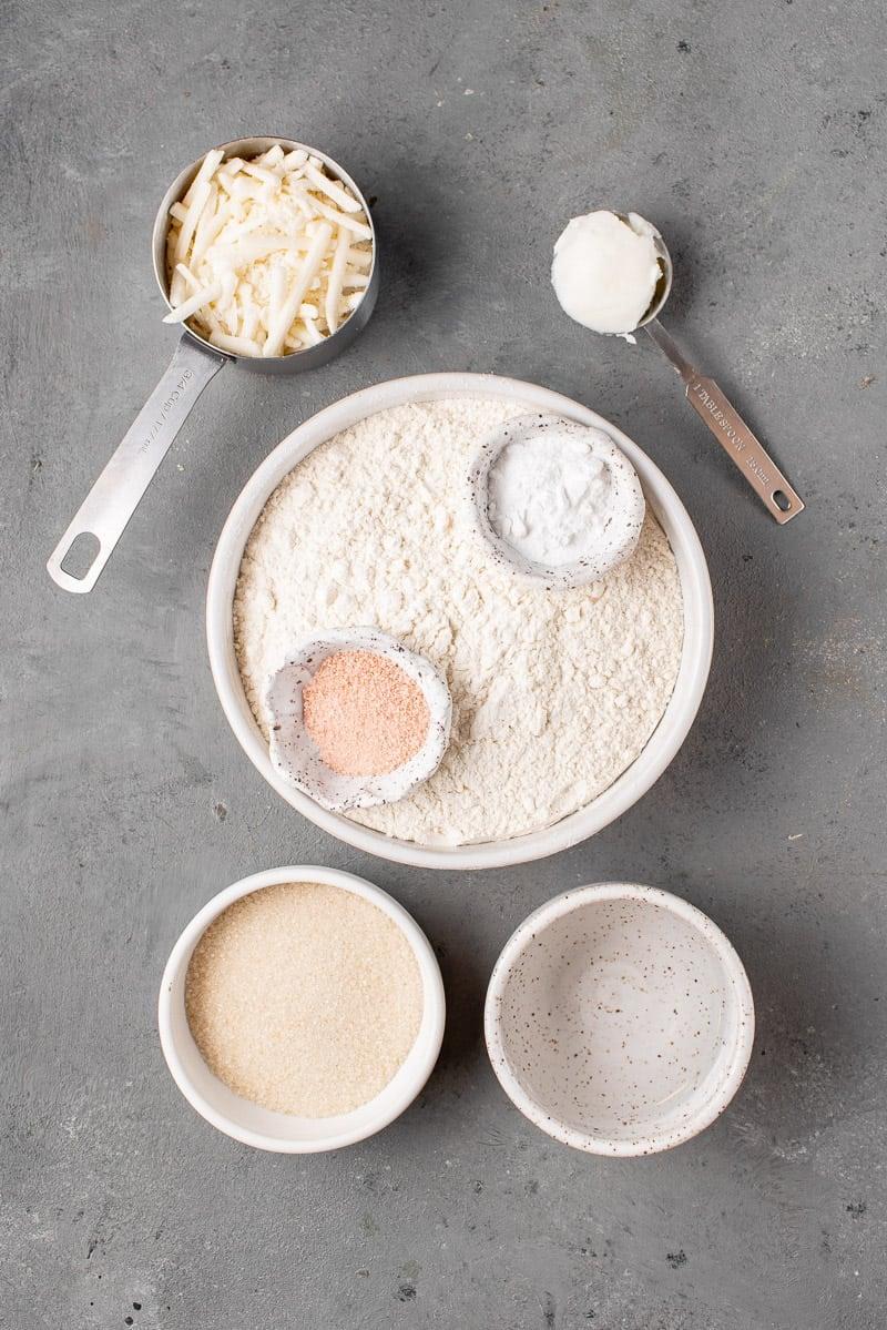 ingredients for cheese empanadas